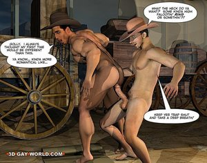 Juicy cowboy spends passionate