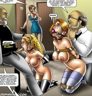 Busty slave girls victims