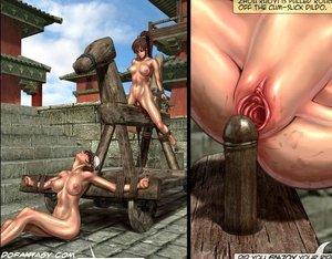 Oriental slave chicks humiliated