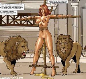 Roman sexy slaves tight
