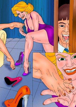 Gorgeous women enjoy fun