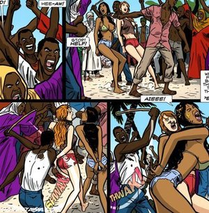 White slave bimbos undressed