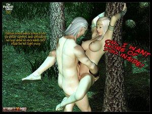 Elf babe perfect boobs