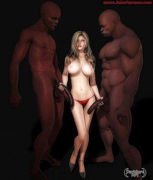 Naked big tits white