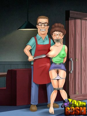 Real cartoon couple spice