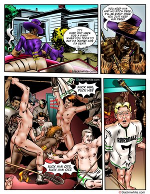 Hot interracial sex cartoons are all here