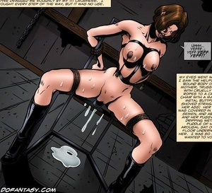 Lustful cartoon mistress latex