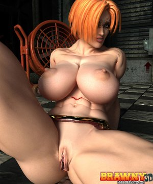 Short haired red head