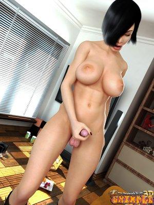 Gorgeous asian ladyboy cock