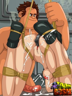 Big horny dude pounding