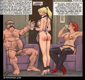 Hot enslaved girls cuffs