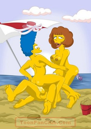 Hot marge simpson friend