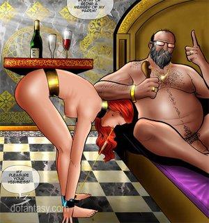 Pervert arab sheikh forcing