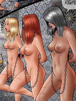 Kinky military men torturing