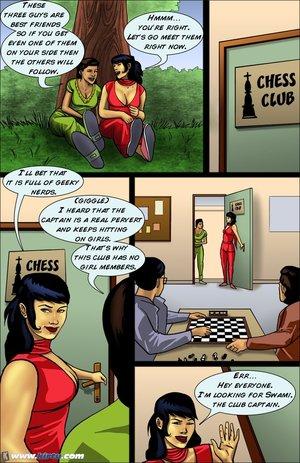 Nasty indian coed seduces