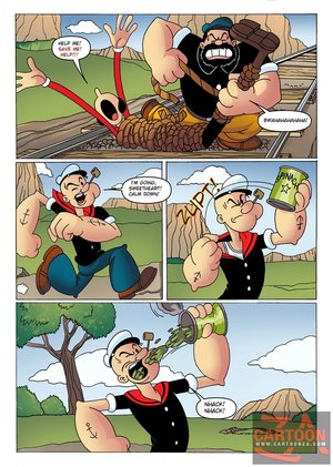 Powerful popeye defeats big