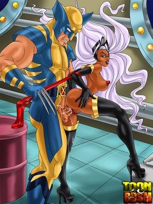 Wolverine storm hot fuck