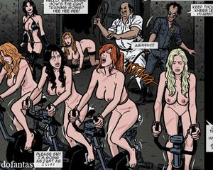 Lots naked chicks dungeon
