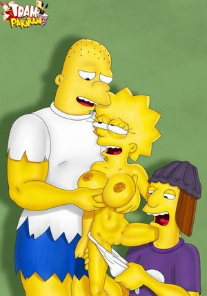 Simpsons nude dirty playing
