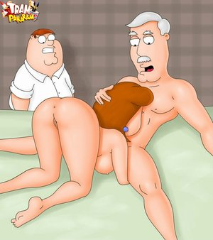 Peter griffin spying slutty