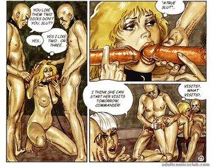 Blonde vixen asked fuck