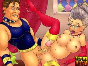 Godmother porn shrek prefers