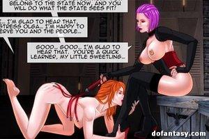Blonde toon slaves lezzing