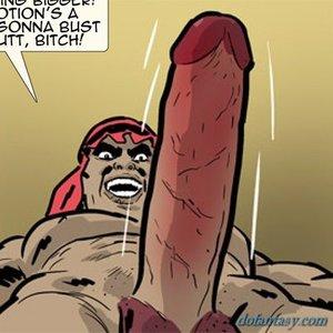 Hung dude ready penetrate