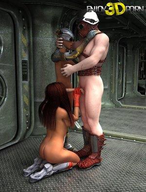 Girls seduce stud gas