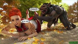 Tattooed fairy tale tart