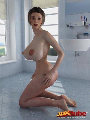 Chick massive tits naked