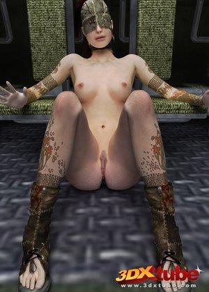 Babe eye floor naked