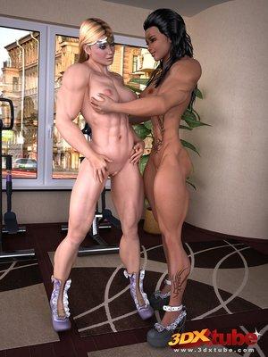 Sets captivating lesbians lick