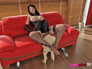Gorgeous raven-haired hottie black
