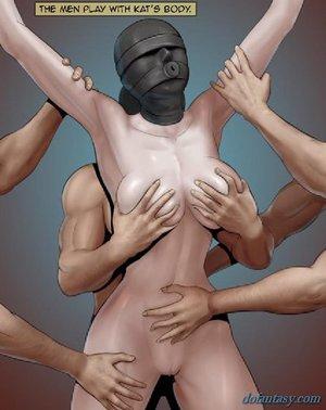 Tantalizing chick black mask