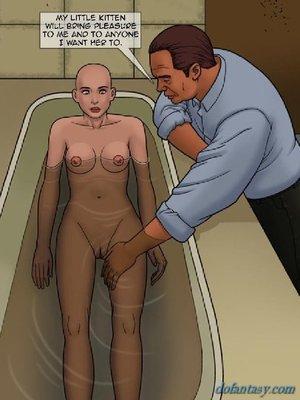 Guy submissive honey bath