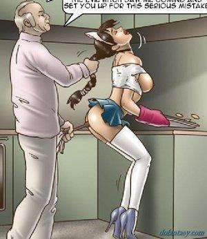 Girls slave training suck
