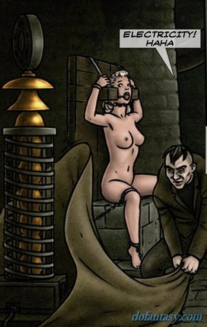 Medieval creep torture busty