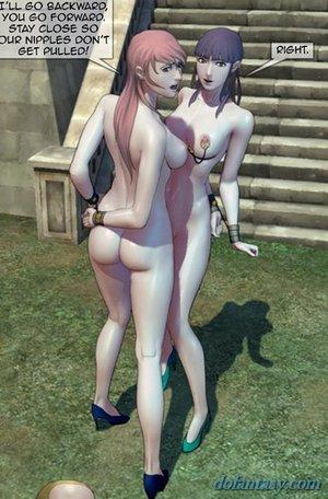 Slave girls tied asked