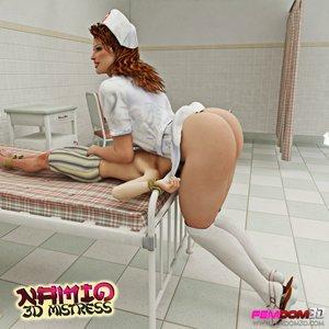 Nurse stockings smothers slaves