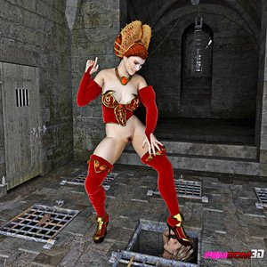 Redhead sex queen high