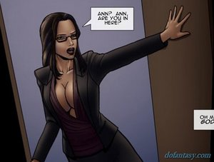 Short-haired brunette lawyer deep