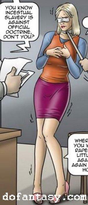 Abused daddy cartoon bdsm