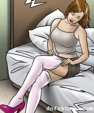 Bdsm comic art sex toys. The Game by Erenisch.