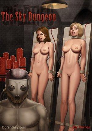 Electric pussy torture bondage