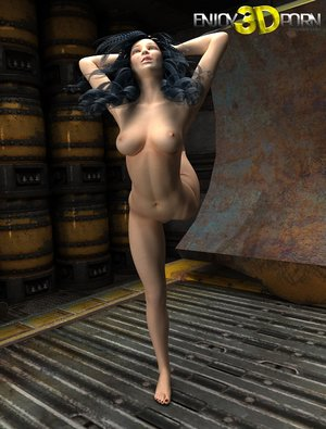 Flexible 3d cartoon porn