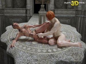 Alien lesbian pussy fuck