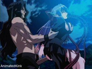 Horny hentai