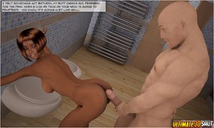 Cartoons shower orgy officer