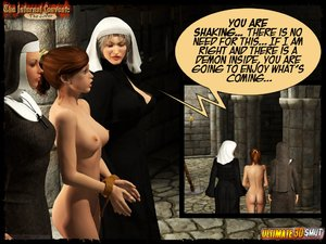 Banged tortured busty nuns